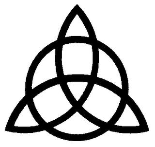 Símbolos celtas o célticos. Triqueta